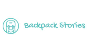 Backpacking Logo Podcast Backpack Stories