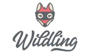 Wildling shoes Logo - Roter Fuchs und Schreibschrift