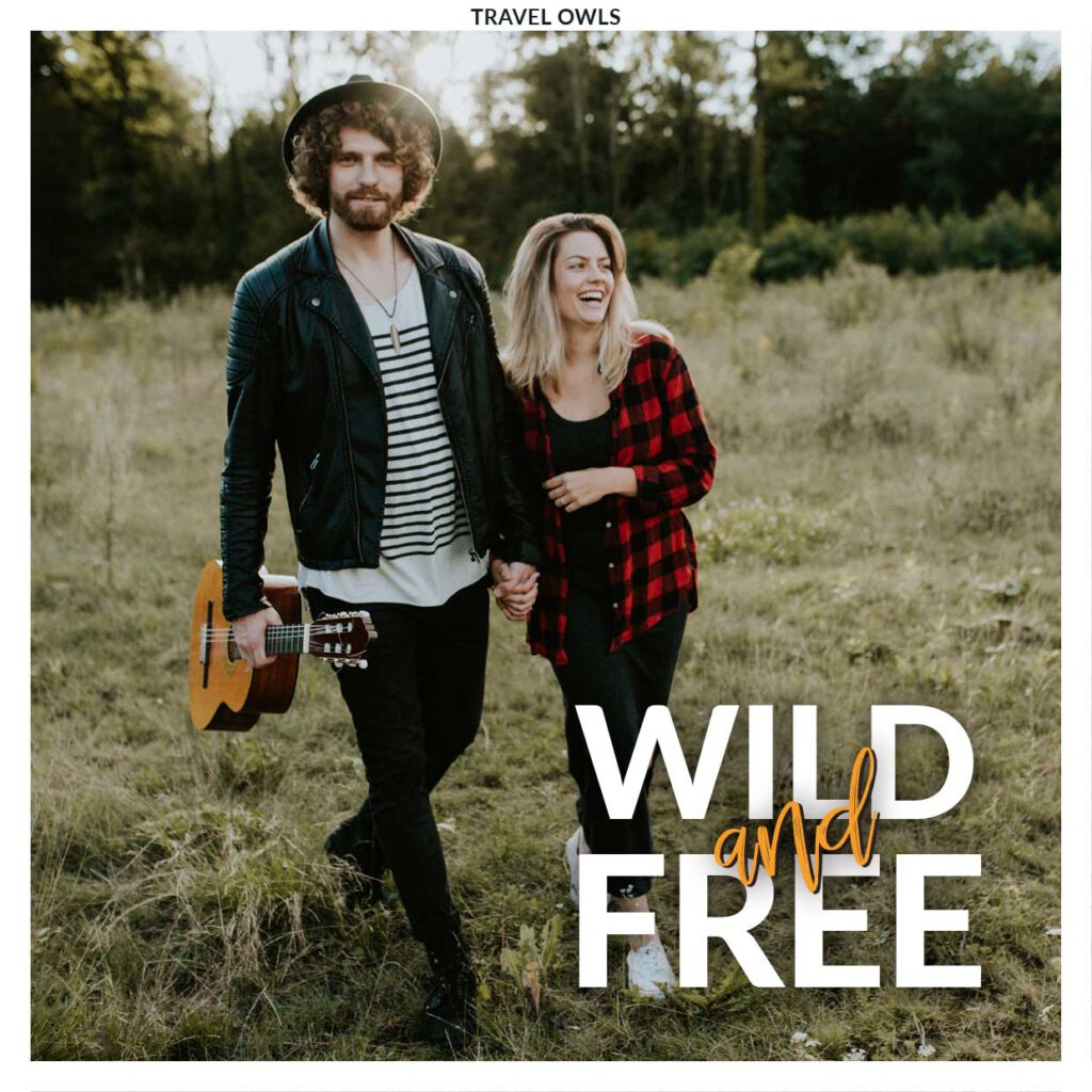 wild and free travel owls single cover