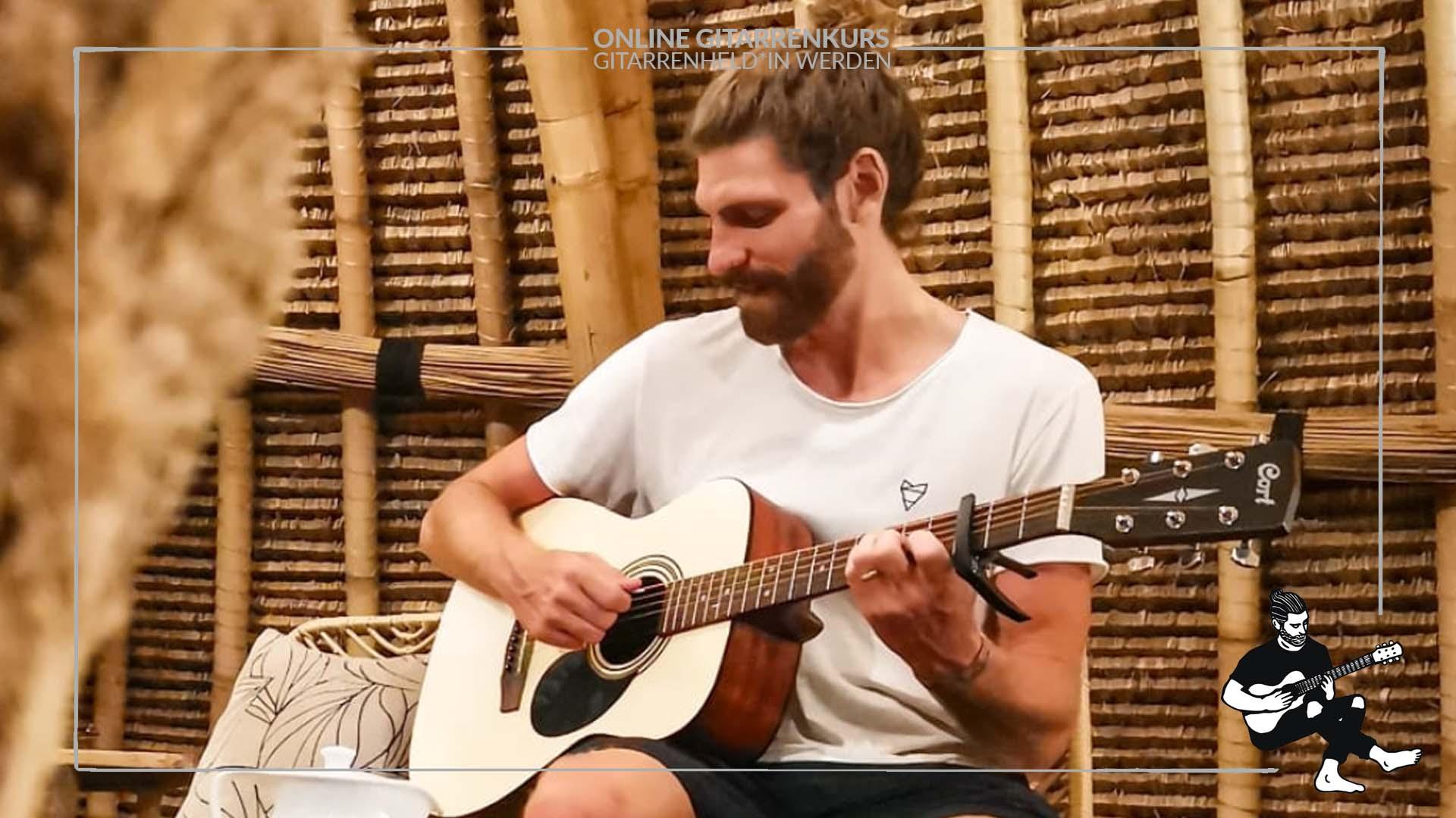 gitarren lieder spielen